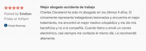 Accidente de Trabajo abogado revisión