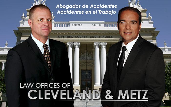 Abogados Charles Cleveland & John Metz