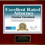 Charles Cleveland AVVO attorney 2014