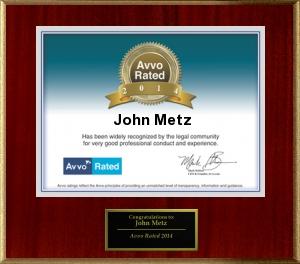 attorney abogado John Metz AVVO 2014