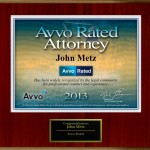 AVVO Rated Lawyer John Metz in San Bernardino County