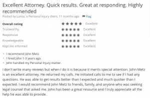 Accident lawyer review