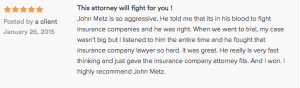 Lawyer review John Metz